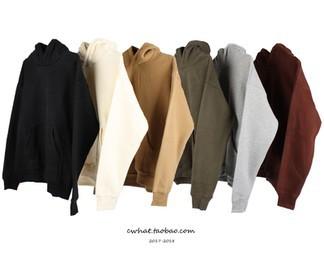 Kanye West Solid Color hoodie