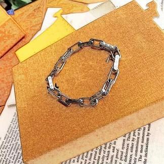 Louis Vuitton Silver Bracelet