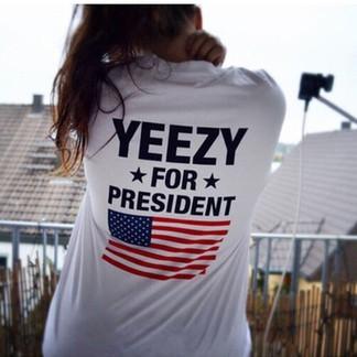 """""""Yeezy for President"""" T-Shirt"""