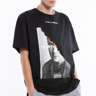 Gosha Burning Photo T-Shirt