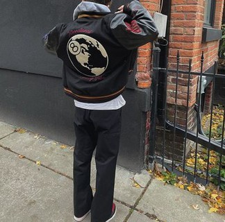 Stussy x DSM 40th Anniversary Varsity Jacket