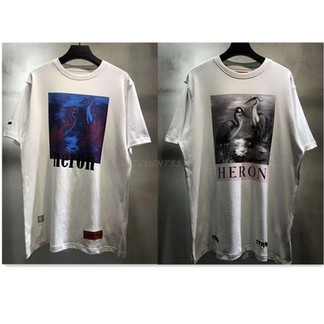 Heron Preston Over-Saturated/Desaturated Birds T-Shirt