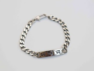 Gucci Ghost Silver Bracelet