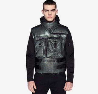 Stone Island Reflective Cargo Vest
