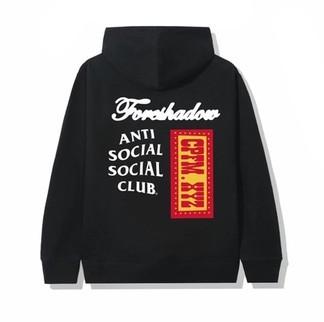 Anti Social Social Club x CPFM Hoodie Black (2020)