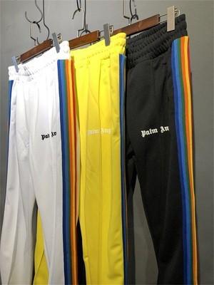 Palm Angels Rainbow Striped Sweatpants