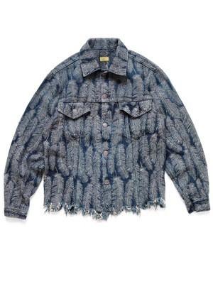 Kapital 12oz Feather Denim 3rd Jacket