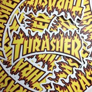 Trasher Stickers