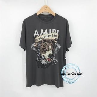 "Amiri ""Survival Of The Fittest"" Pitbull Dog T-Shirt"