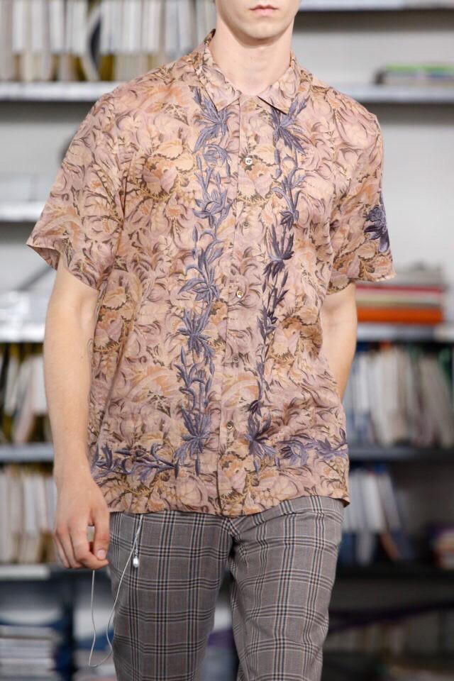 Dries Van Noten Floral Voile Shirt