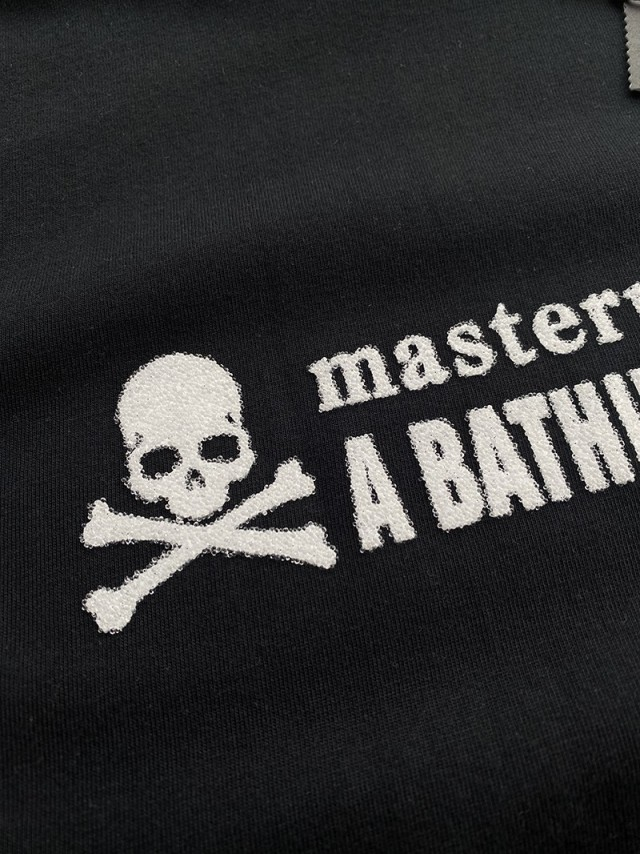 MASTERMIND and BATHING APE Towel embroidery T-shirt