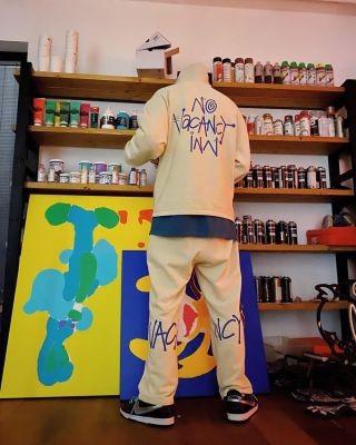 Stussy x No Vacancy Inn Hoodie