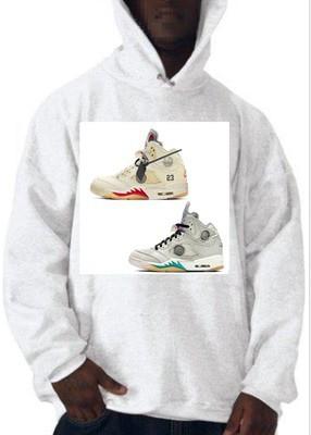 Nike x Off-White Air Jordan 5 Sneakers