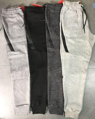 d6f43ccb8355 Nike Tech Fleece Trackies Dark Grey 1