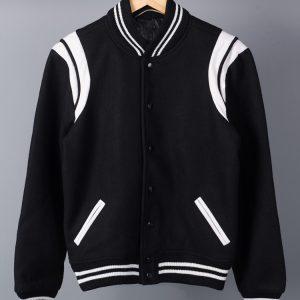 Saint Laurent Teddy Baseball Jacket