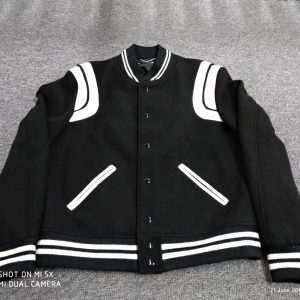 Saint Laurent Teddy Baseball Jacket (Richchigga version)