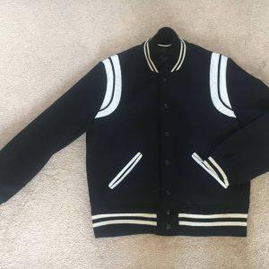 Saint Laurent Teddy Baseball Jacket (Reondistrict version)