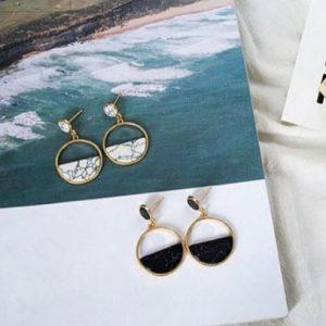 Rando Marble Earrings