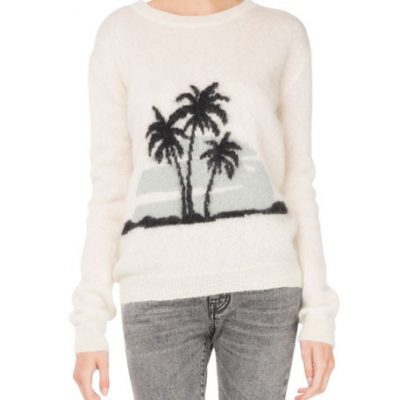 Saint Laurent Palm Trees Sweater