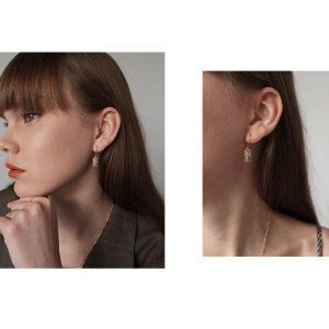 Trendy Square Earrings