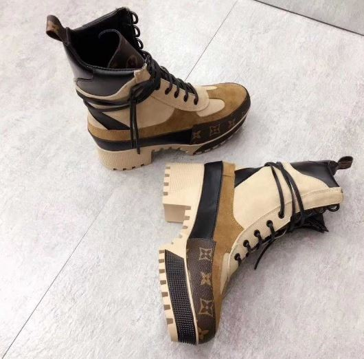 Louis Vuitton Laureate Platform Desert Boots China Haul