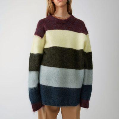 Acne Studios Albah Mohair-Blend Sweater