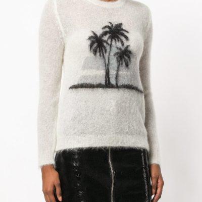 Saint Laurent Palm Tree Sweater